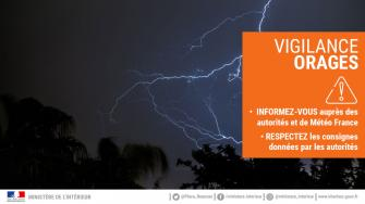 VIGILANCE ORANGE - ORAGES