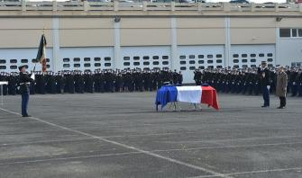 Hommage au major Hocine Rebiha décédé en intervention