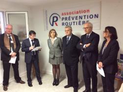Inauguration Des Locaux De Lassociation Prevention Routiere A Beauvais