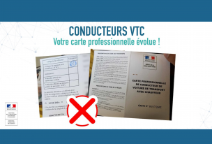 Message important à l'intention des conducteurs VTC