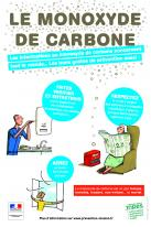 PENDANT LES FETES DE FIN D'ANNEE, ATTENTION AUX INTOXICATIONS PAR LE MONOXYDE DE CARBONE!