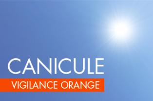 Vigilance orange - Canicule