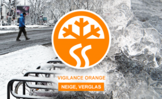 Vigilance orange - neige et verglas